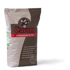 Cavom Compleet lam en rijst 20kg