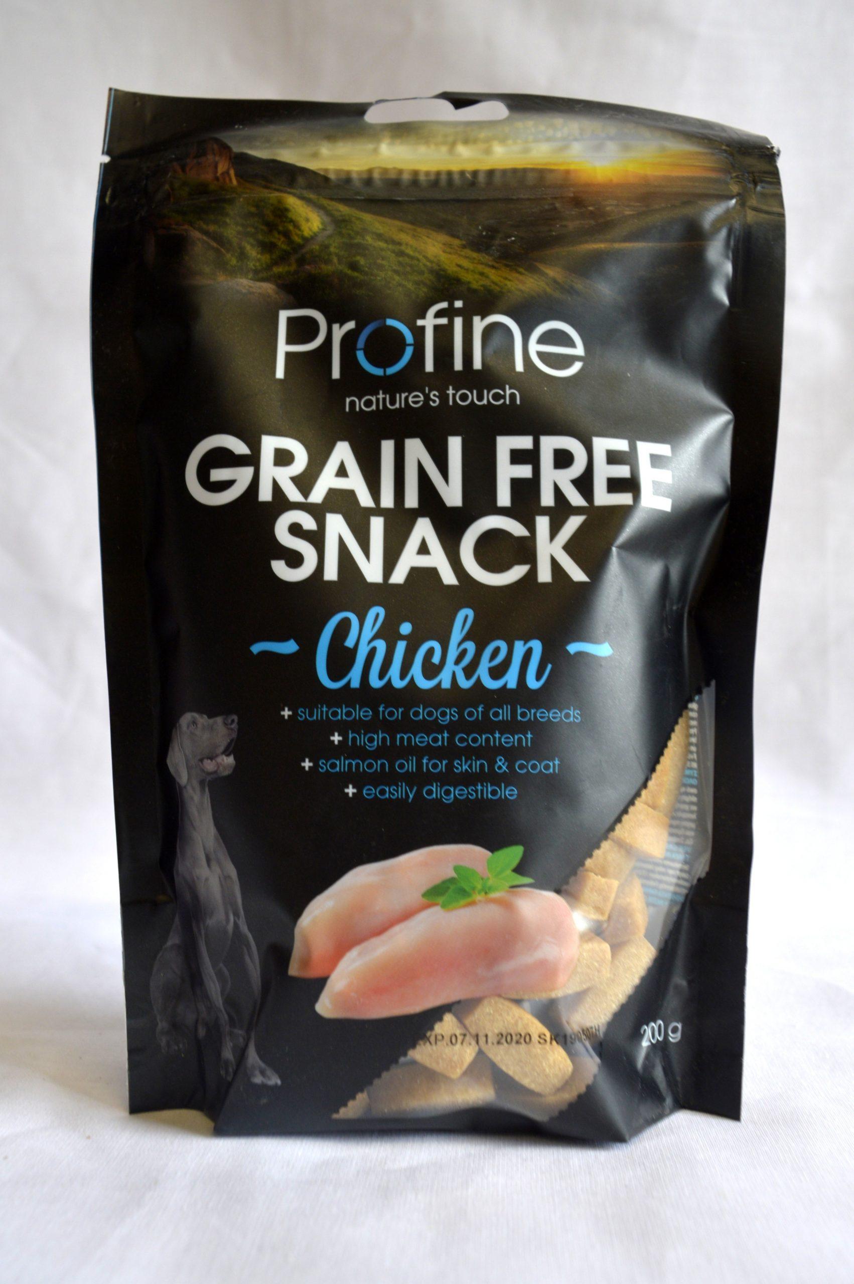 Profine Chicken Grain Free Snacks