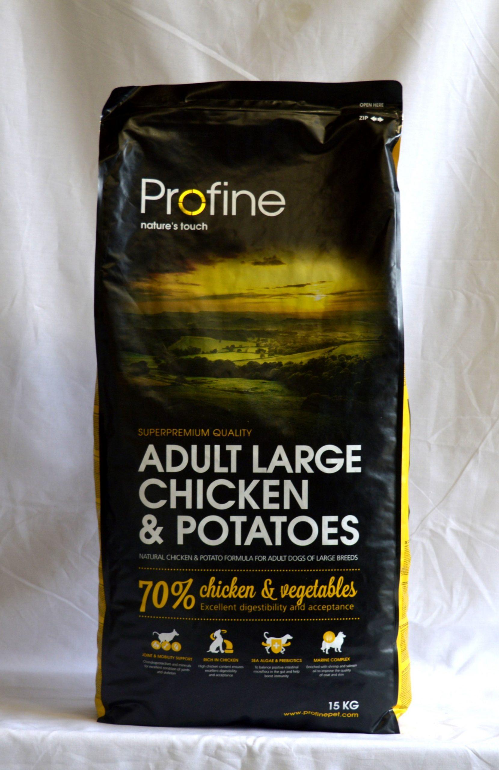 Profine Chicken & Potatoes Adult Large-15kg