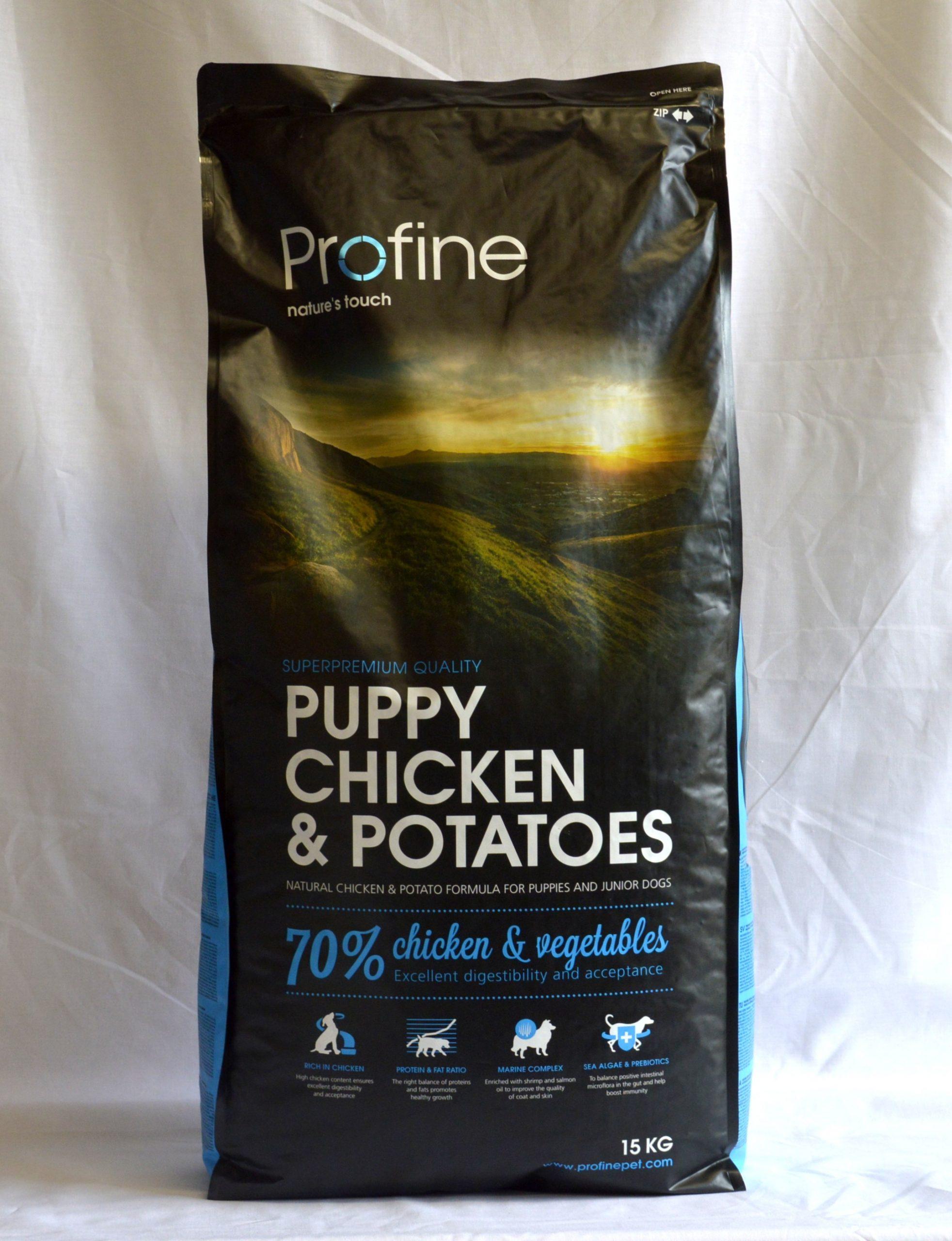 Profine Chicken & Potatoes Puppy-15kg