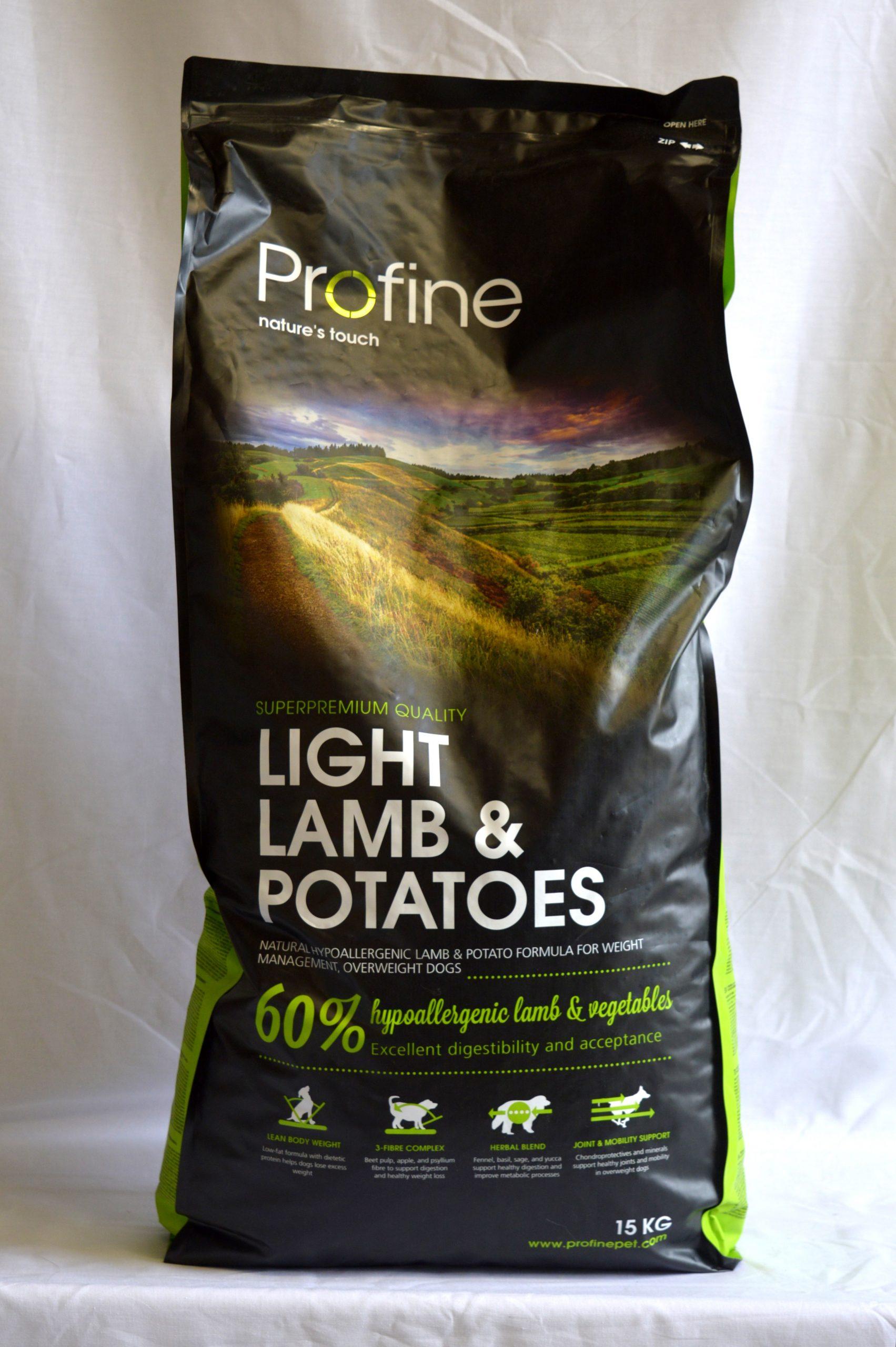 Profine Lamb & Potatoes Light-15kg