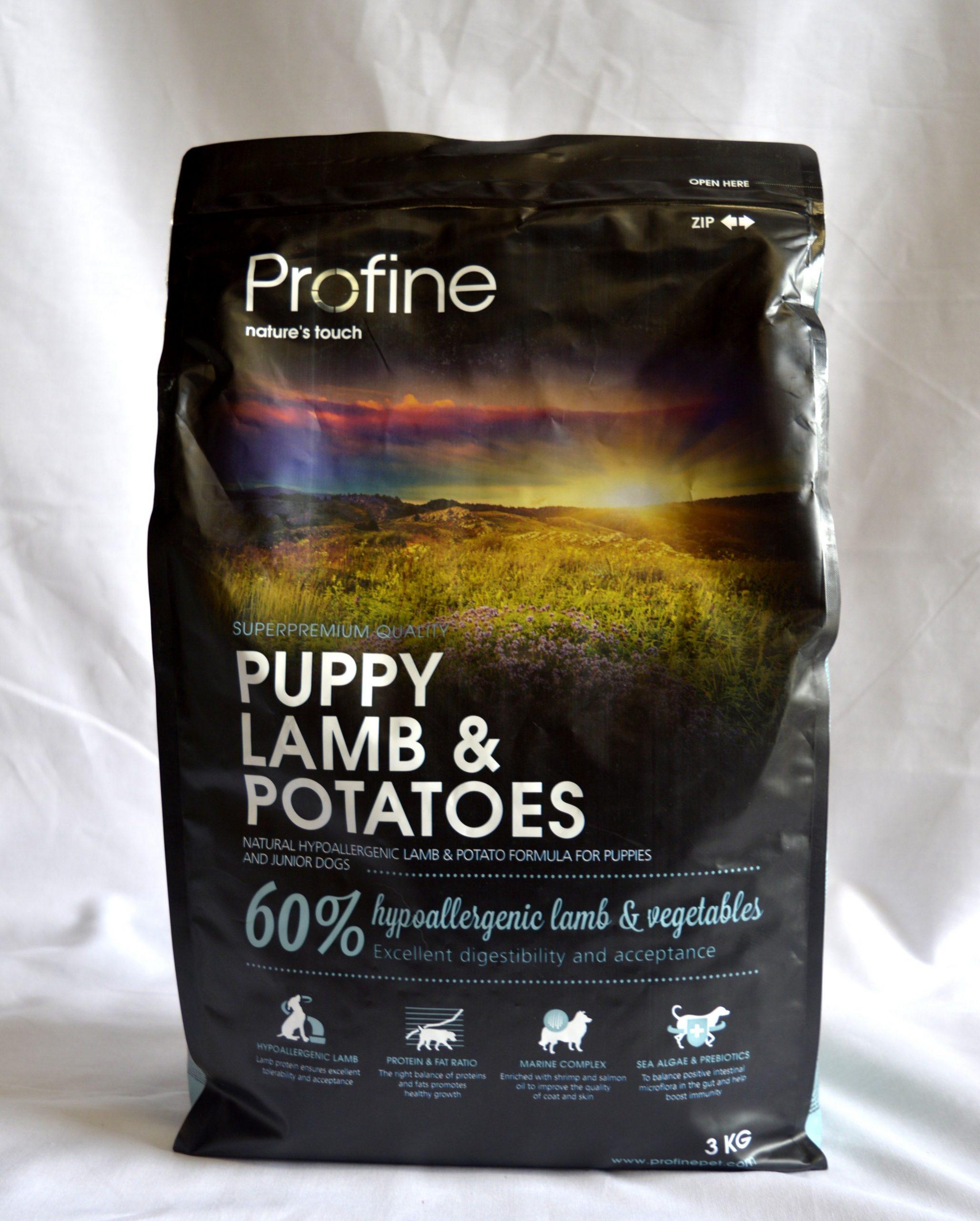 Profine Lamb & Potatoes Puppy-3kg