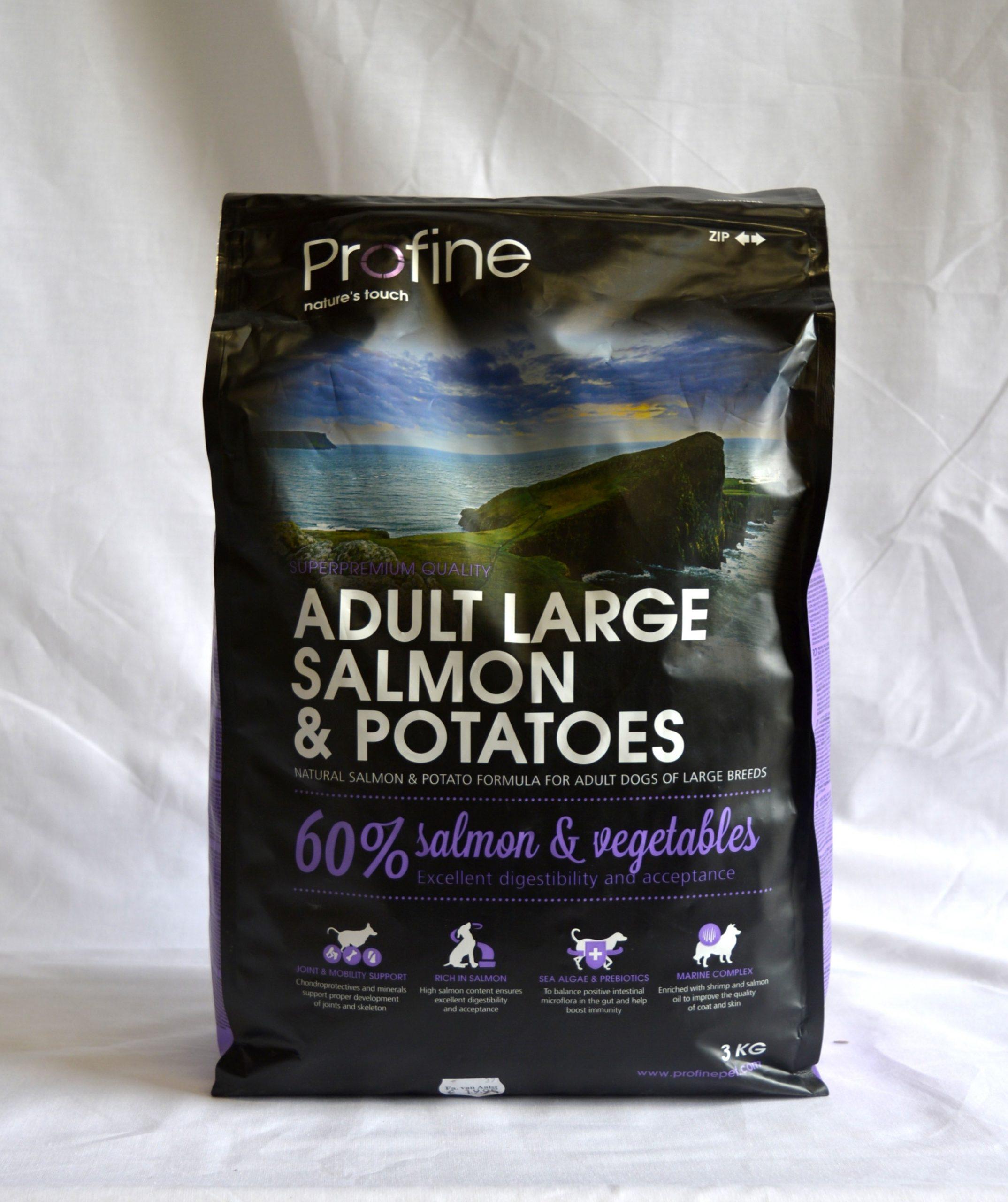 Profine Salmon & Potatoes Adult Large-3kg