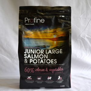Profine Salmon & Potatoes Junior Large-3kg