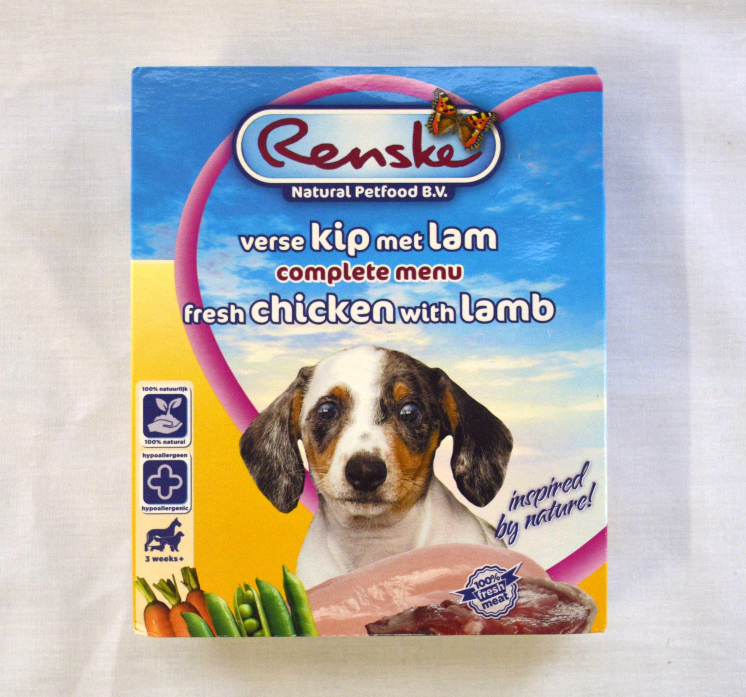 Renske Fresh Chicken with Fresh Lamb 395gr