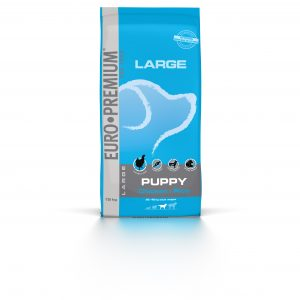Euro Premium Large Puppy Chicken & Rice 15kg