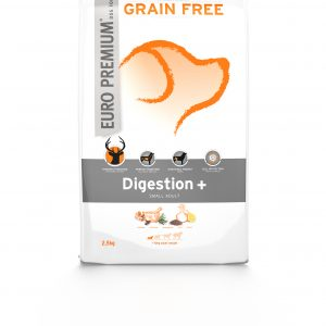 Euro Premium Grain Free Digestion+ small adult 2,5 kg