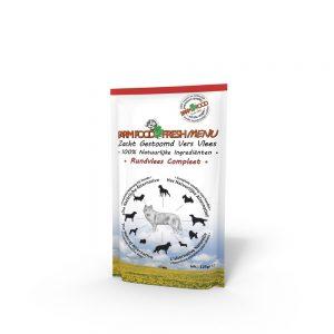 Farm Food Fresh Menu rundvlees compleet 300gr