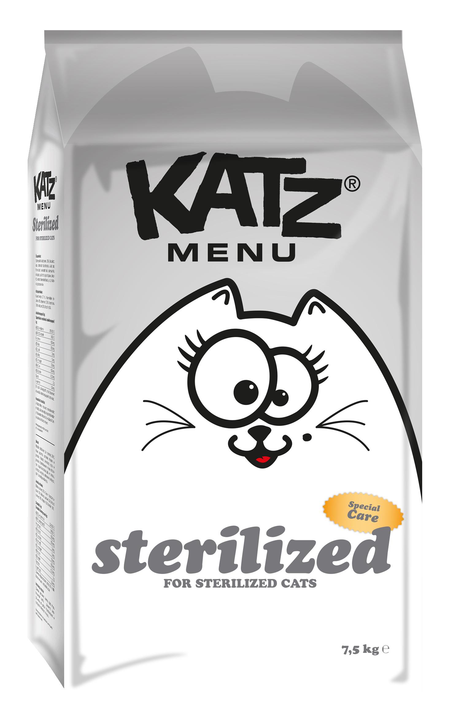 Katz Menu Sterilized 7.5kg