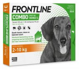 Frontline Combo Hond 2-10kg 3pip
