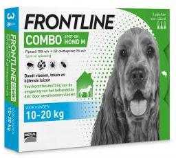 Frontline Combo Hond 10-20kg 3pip