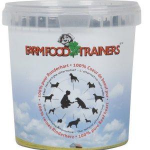 Farm Food Trainers runderhart 333gr