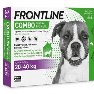 Frontline Combo Hond 20-40kg 3pip
