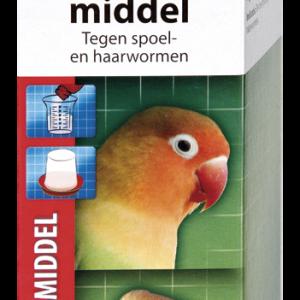 Beaphar wormmiddel vogels/knaagdier
